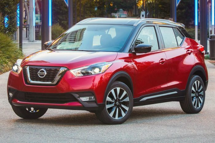 Nissan kicks basic model