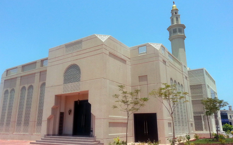 mosquee abu dhabi